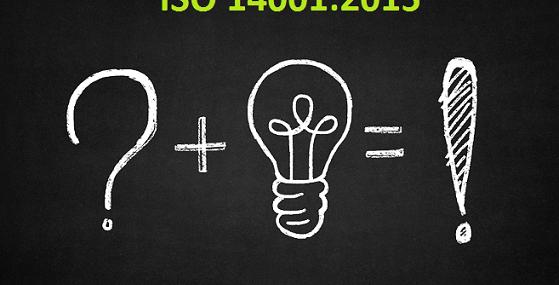 ISO 14001:2015 mudanças